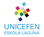 UNICEFen eskola laguna gara. Somos Escuela amiga de UNICEF